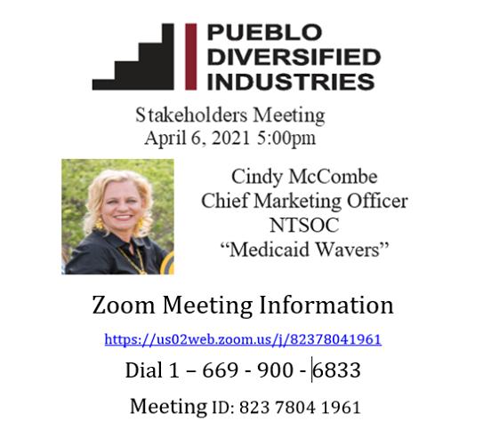 Pueblo Diversified Industries Stakeholder Meeting